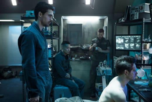 Surveillance Network Search - The Expanse Season 2 Episode 10
