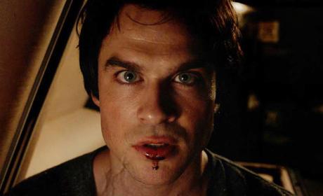 Damon... in Brooklyn? - The Vampire Diaries Season 7 Episode 1