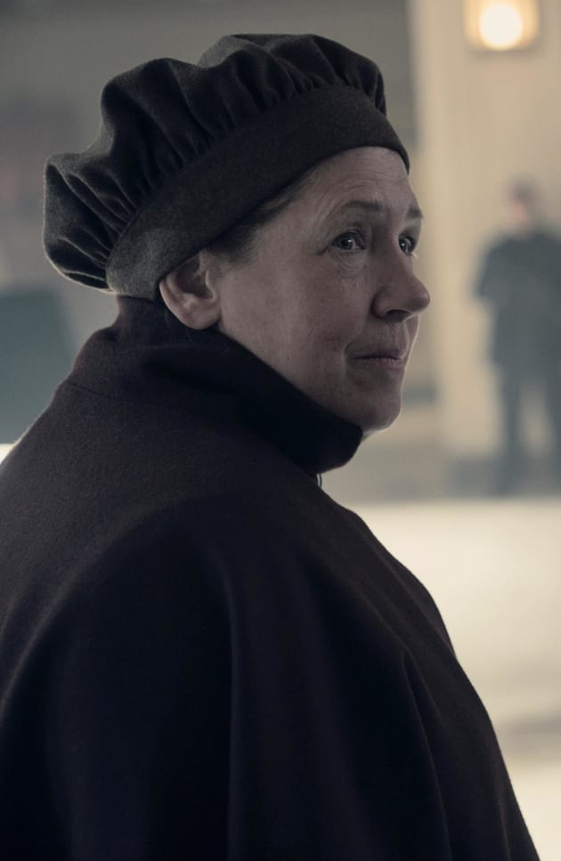 Aunt Lydia Unnerved - The Handmaid's Tale