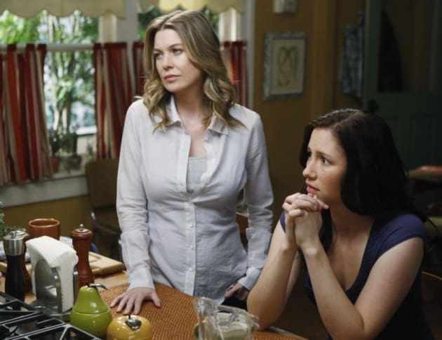 Mer and Lexie Grey