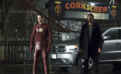 The Flash Photo Preview: The Superhero Challenge