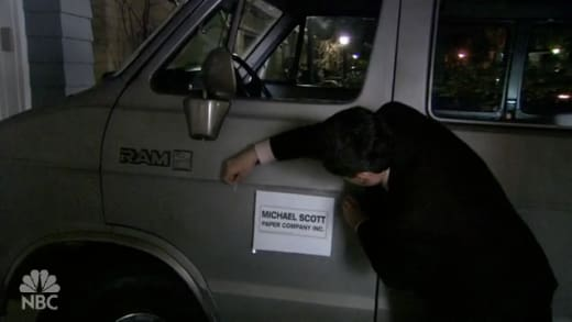 Michael Scott Paper Company Car