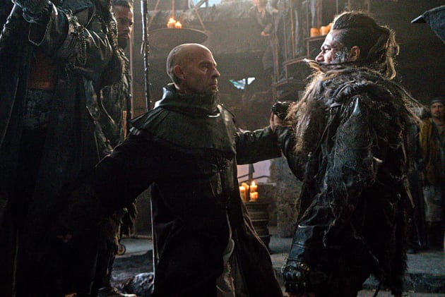 Titus vs Semet - The 100 Season 3 Episode 7