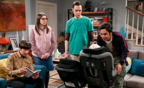 Experimenting On The Kids - The Big Bang Theory