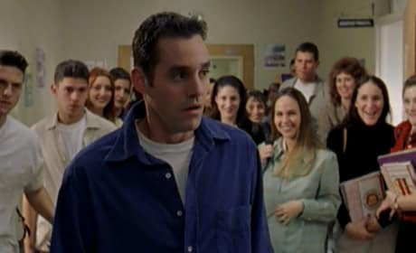 Hallway Stares - Buffy the Vampire Slayer Season 2 Episode 16
