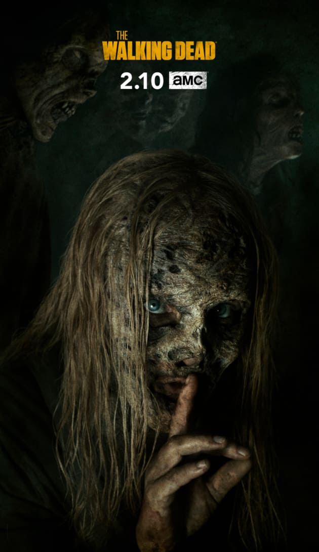 Samantha Morton as Alpha - The Walking Dead