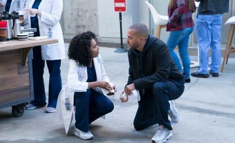 Awkward Again - Grey's Anatomy Season 14 Episode 15