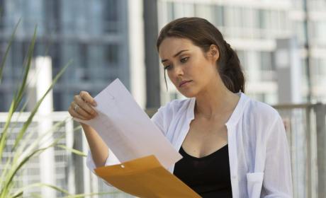 Liz Looks Over Papers  - The Blacklist