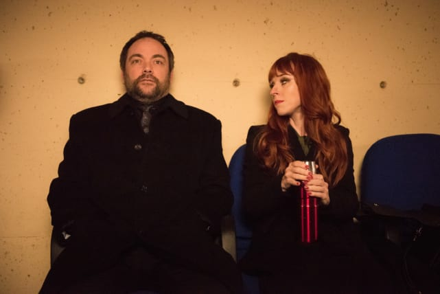Rowena and Crowley have a sit down - Supernatural Season 12 Episode 13