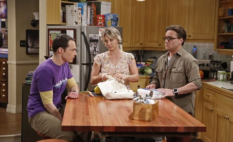 Sheldon Wants Penny and Leonard to Set a Date - The Big Bang Theory Season 8 Episode 24