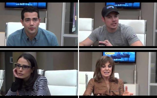 Jesse metcalfe set interview