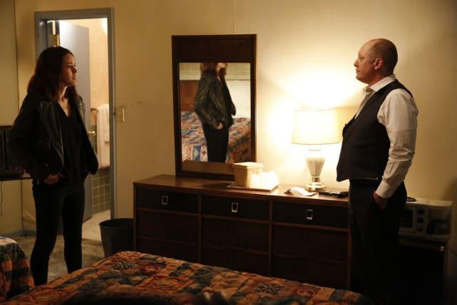 Liz confronts Red - The Blacklist Season 4 Episode 22