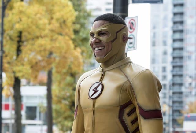 Happy Kid Flash