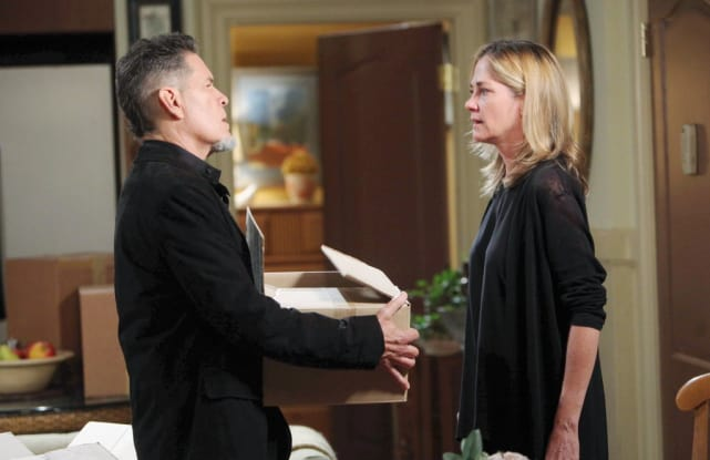 Paige's Daddy Return - Days of Our Lives