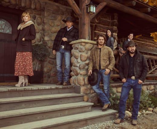 The Dutton Family on Yellowstone