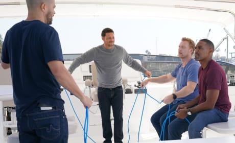 Alex Plays with Rope - Grey's Anatomy Season 14 Episode 6