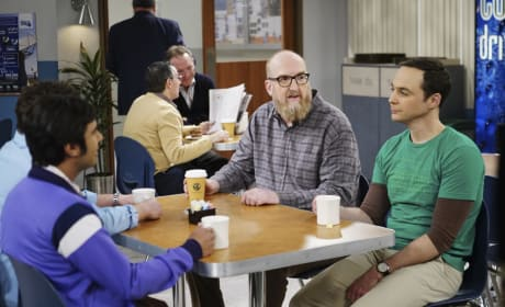 Making Plans with Bert - The Big Bang Theory Season 10 Episode 21