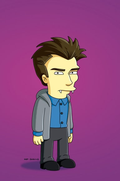 Daniel Radcliffe on The Simpsons