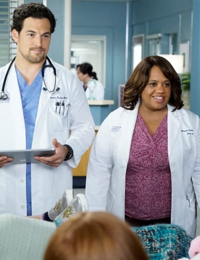 DeLuca and Bailey Team Up - Tall  - Grey's Anatomy Season 16 Episode 11