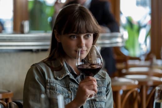 Tess Sips Wine - Sweetbitter Season 1 Episode 4