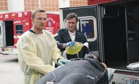 Hunt at the Ambulance