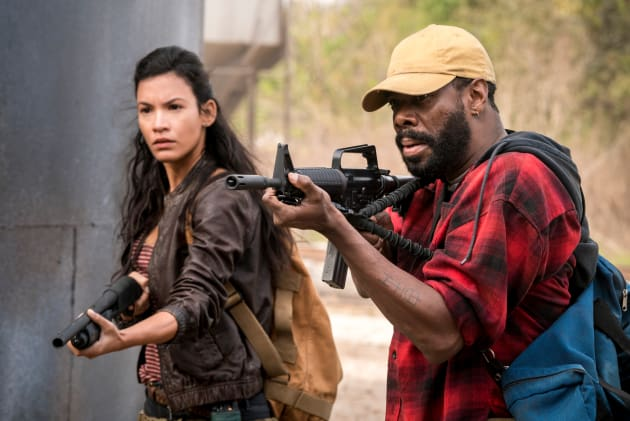 New Acquaintances - Fear the Walking Dead Season 4 Episode 2