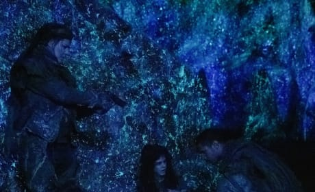 Diyoza, Octavia, and Xavier Together - The 100 Season 6 Episode 6