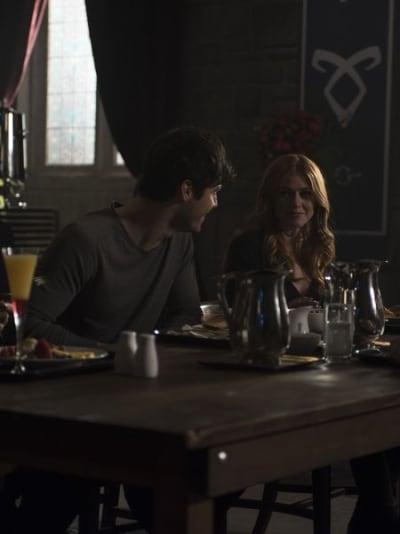 Group Breakfast  - Shadowhunters Season 3 Episode 15
