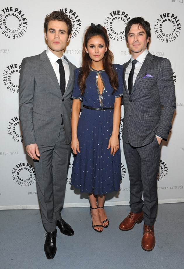 Vampire Diaries Trio at PaleyFest