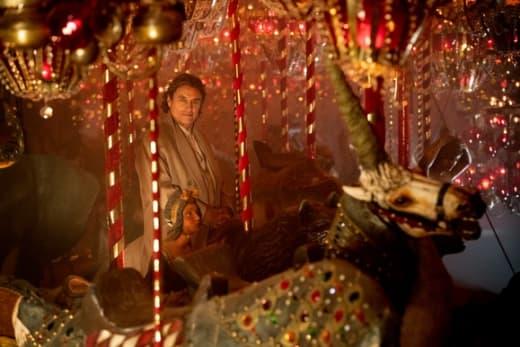 Wednesday Rides the Carousel - American Gods Season 2 Episode 1