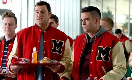 Puck and Karofsky - Glee Season 6 Episode 12