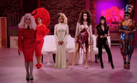 The Jury - RuPaul's Drag Race All Stars Season 3 Episode 8