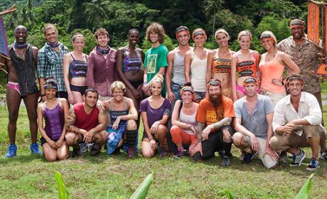 Survivor: Caramoan Cast Pic