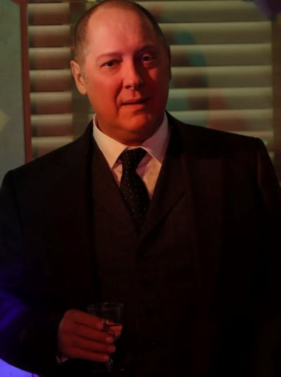 Surprised Red - The Blacklist Season 8 Episode 6