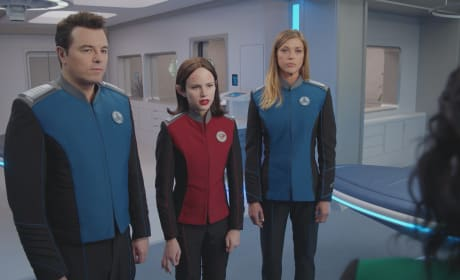 Officers in Sick Bay - The Orville Season 2 Episode 3