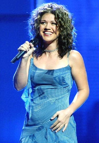 Kelly on American Idol