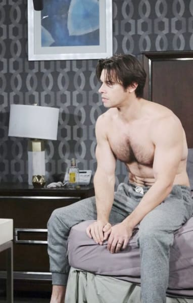 Victor Berates Xander/Tall - Days of Our Lives
