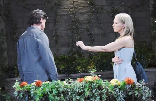 Eric and Jen Break Up - Days of Our Lives