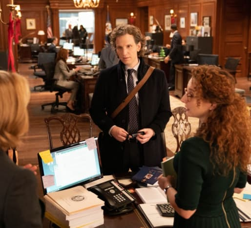 A New Assistant - Madam Secretary Season 5 Episode 9