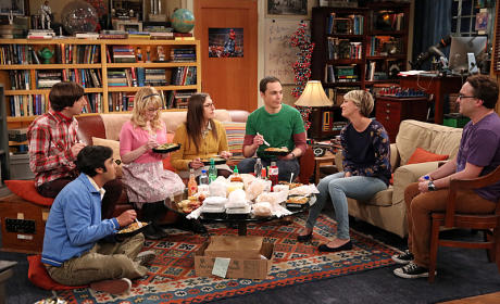 The Graduation Transmission Scene - The Big Bang Theory Season 8 Episode 22