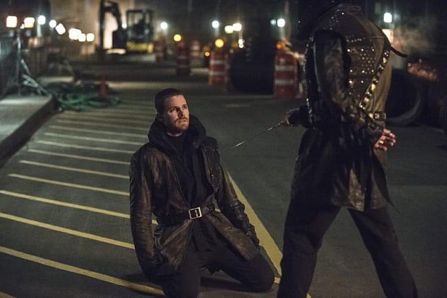 On His Knees - Arrow Season 3 Episode 23