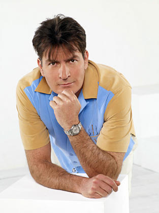 Charlie Sheen Promo Pic