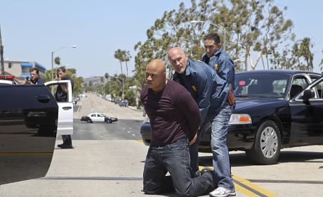 Sam Is Arrested - NCIS: Los Angeles