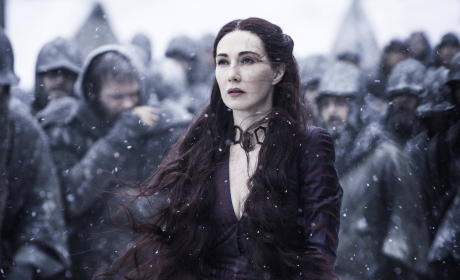 Melisandre Concerned - Game of Thrones
