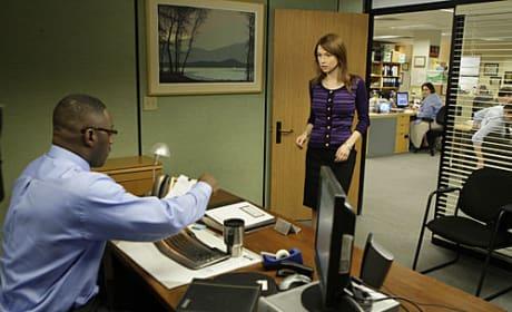 Erin on The Office