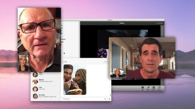 Jay and Phil Look Very Concerned - Modern Family Season 6 Episode 16