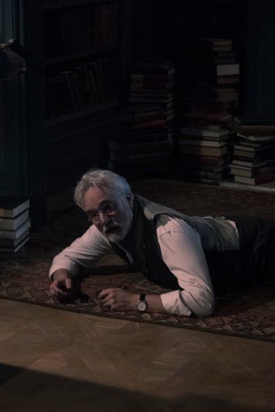 Commander Lawrence on the Floor - The Handmaid's Tale Season 3 Episode 11
