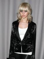 Taylor Momsen at Fashion Week