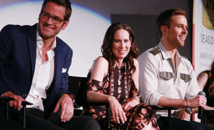 Younger: Miriam Shor and Peter Hermann on Ageism, Diana's Strength & #TeamCharles