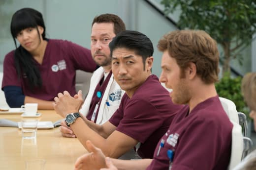 Nobody Likes Meetings - Chicago Med Season 3 Episode 3